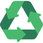 Icon voor thema paper afvalmanagement en recycling